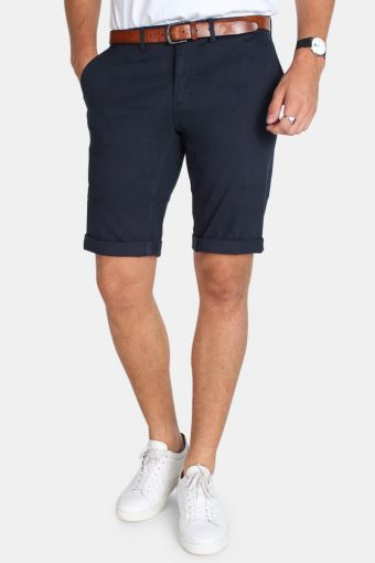 Jonas Stretch Shorts Navy