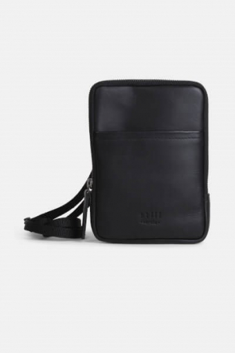 Clean Mini Messenger Bag Black