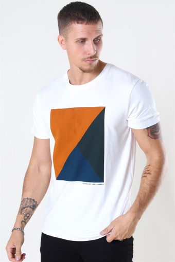 Riley Stretch T-shirt Dusty Orange