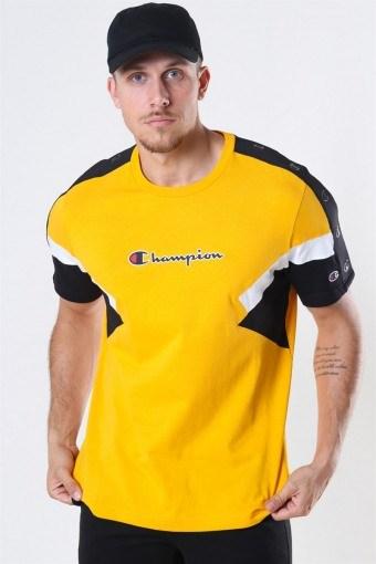Crewneck T-Shirt Yellow/Black/White