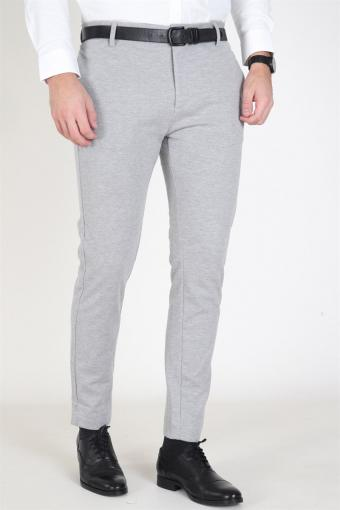 Milano Jersey Pants Light Grey Mel
