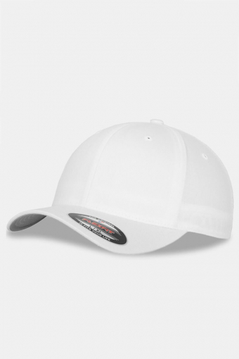 Flexfit Wooly Combed Original Cap White