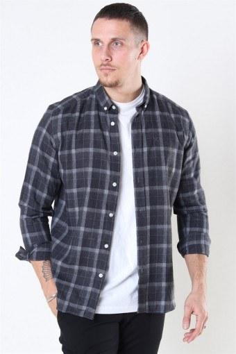 Sälen Flannel 3 Skjorte Antrasit
