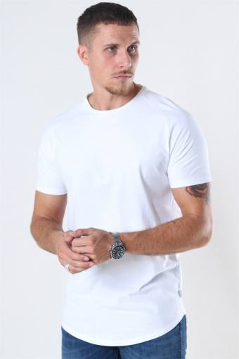 Curved Tee White
