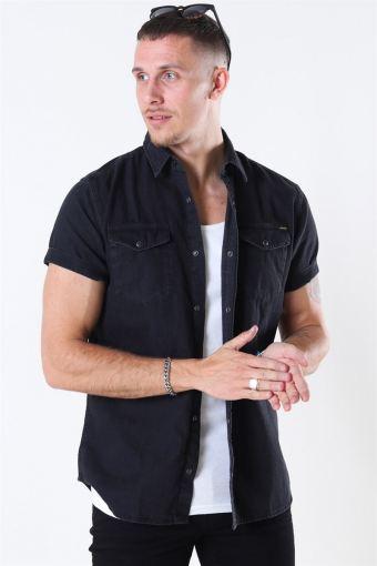 Sheridan Skjorte S/S Black Denim