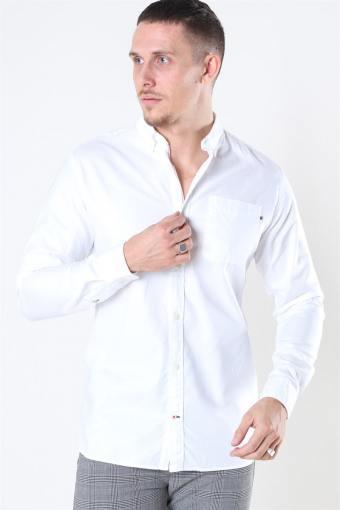 Jack & Jones Classic Soft Oxford Skjorte LS White