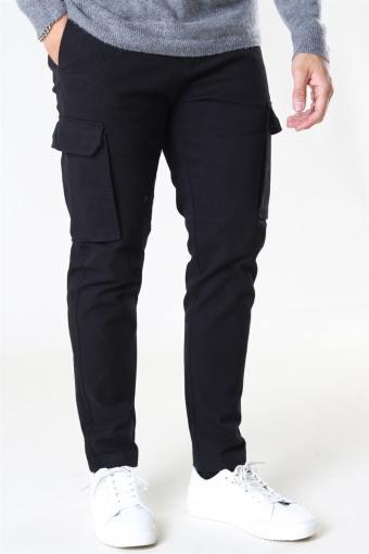 Milano Cargo Pants Black