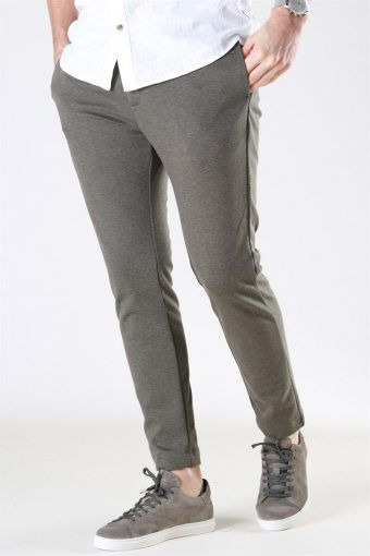 Milano Jersey Pants Dusty Green Melange