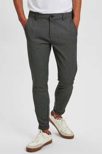 Pisa Jersey Pants Light Grey Mellange