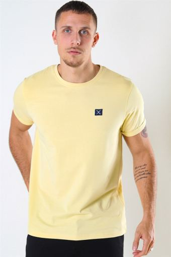 Basic Organic T-shirt Pastal Yellow