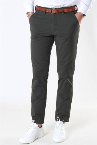 Slim-Miles Flex Chino Pants Forest Night