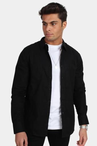 TB297 Checked Flanell Skjorte Black/Black
