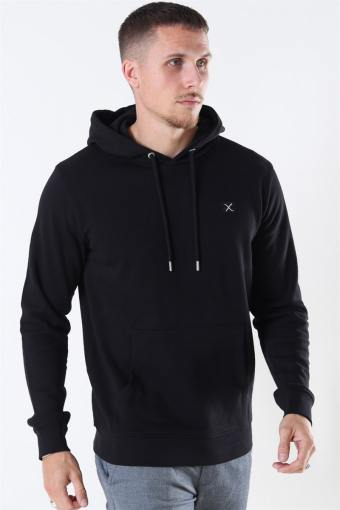 Basic Organic Hoodie Black