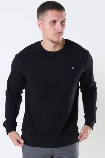 Basic Organic Crewneck Black