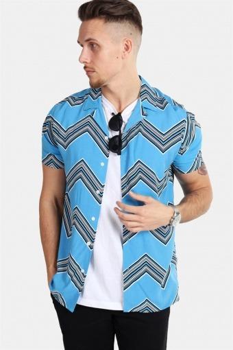 Jonathan Skjorte Trend Swedish Blue