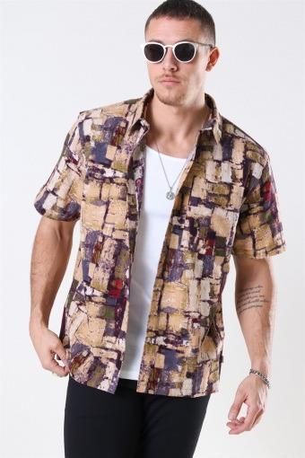 Splat S/S Skjorte Multi Color