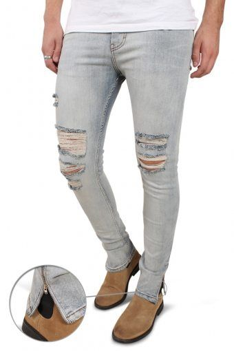 Malle Jeans Light Blue Trash