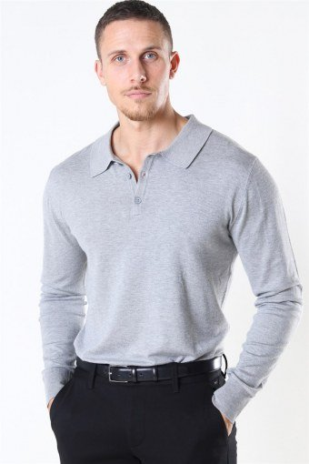 Acheletta Polo Strik Light Grey Mix