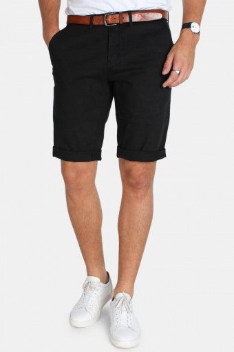 Jonas Stretch Shorts  Black