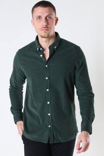 Johan Baby Corduroy shirt Green
