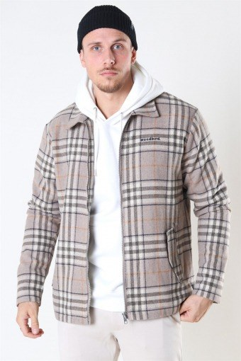 Plucked Check Shirt Sand