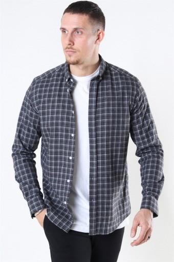 Sälen Flannel 2 Skjorte Antrasit