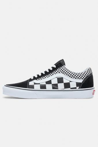 Old Skool Mix Checker Sneakers Black/True