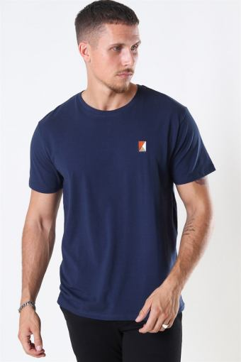Colin Stretch Tee SS Navy