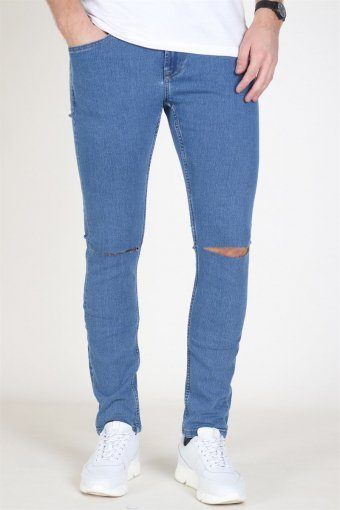 Jeans Wrap W/Rip Camp 7039 Light Blue Denim
