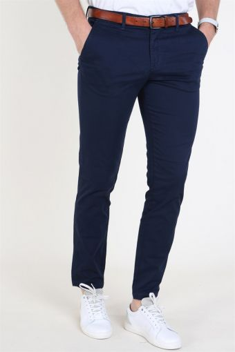 Jack and Jones Marco Bowie Chinos Navy Blazer