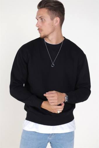 Jack & Jones Soft Sweat Crew Neck Black