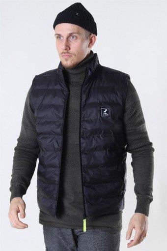 Duncan Recycled Vest Black