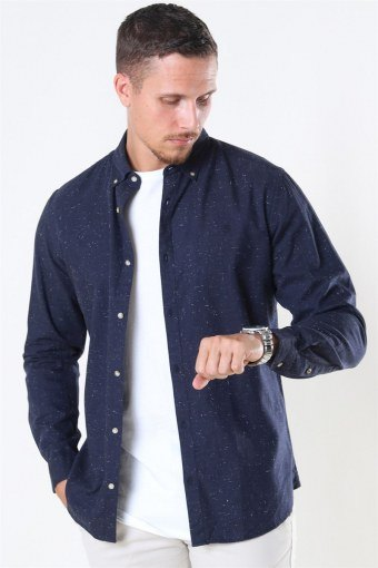 Jack & Jones Blalogo Autumn Skjorte L/S Navy Blazer