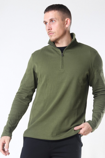 Tailored & Originals Theo LS Strik Winter Moss