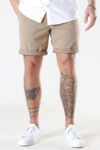 Steffen Twill Shorts Khaki
