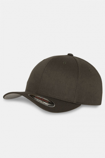 Flexfit Wooly Combed Original Cap Brown