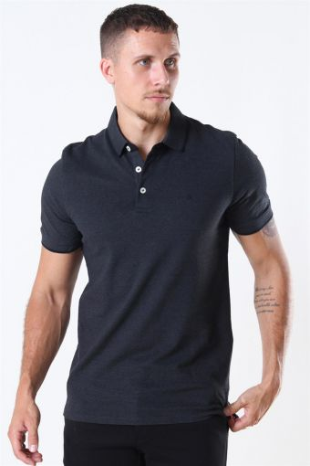 Jack & Jones Paulos Polo SS Dark Grey Melange