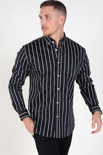 Sälen 129 L/S Skjorte Black