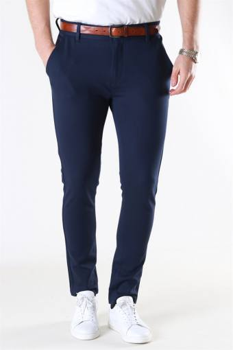 Ponte Roma Plain Pants Navy