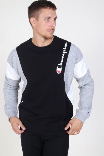 Terry Sweatshirt Black