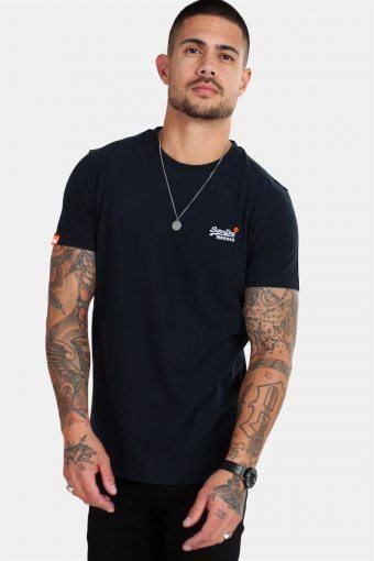 Orange Label Vintage Emb S/S T-shirt Eclipse Navy