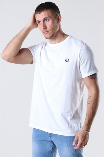 Ringer T-shirt White