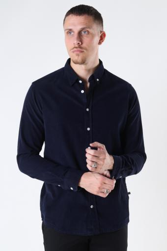 Johan Baby Corduroy shirt Navy