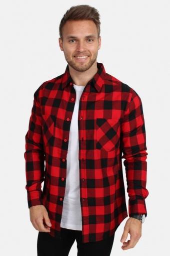 Tb297 Skjorte Red/Black