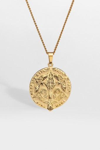 Gungnir Pendant Gold