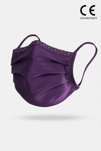 Supreme Line Face Cover Purple