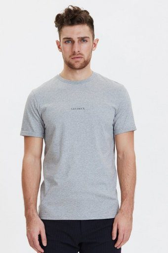 Lens T-shirt Grey Melange
