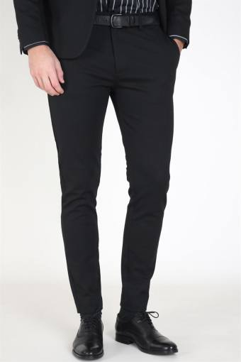 Milano Jersey Pants Black