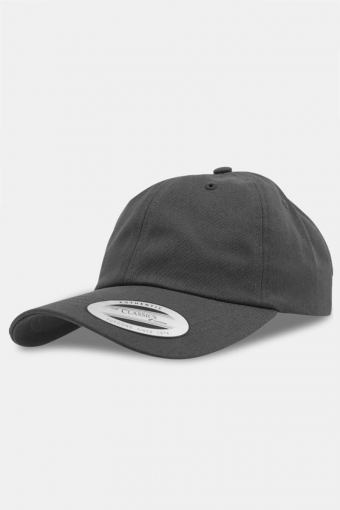 Flexfit Low Profile Cotton Twill Baseball Cap Dark Grey