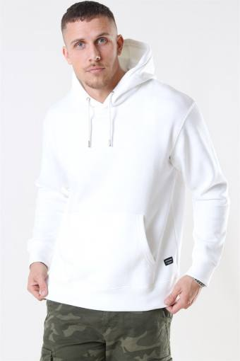 Jack & Jones Soft Sweat Hood White